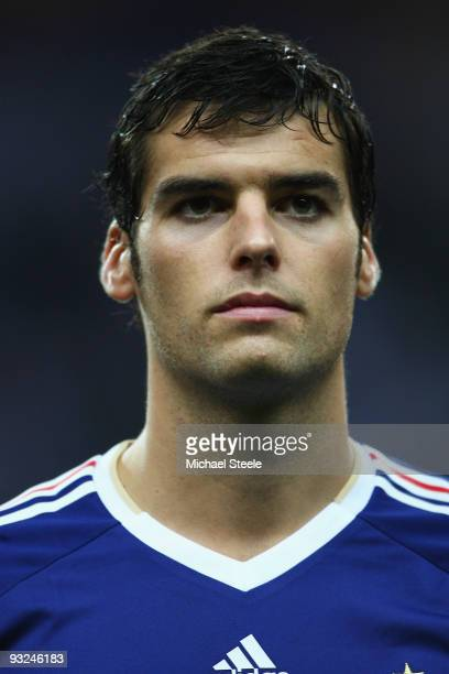 Yoann Gourcuff of France during the France v Republic of Ireland FIFA 2010 World Cup Qualifying Play Off second leg match at the Stade de France on...