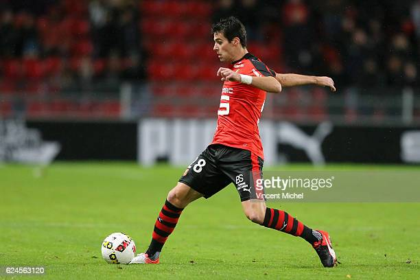 Yoann Gourcuff of Rennes during the Ligue 1 match between Stade Rennais and Sco Angers at Stade de la Route de Lorient on November 19 2016 in Rennes...