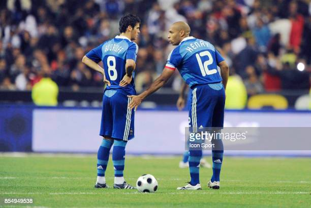 Yoann GOURCUFF / Thierry HENRY France / Tunisie Amical Stade de France