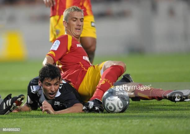 Yoann GOURCUFF / Yohan DEMONT Bordeaux / Lens 1ere journee de Ligue 1 Stade Chaban Delmas Bordeaux