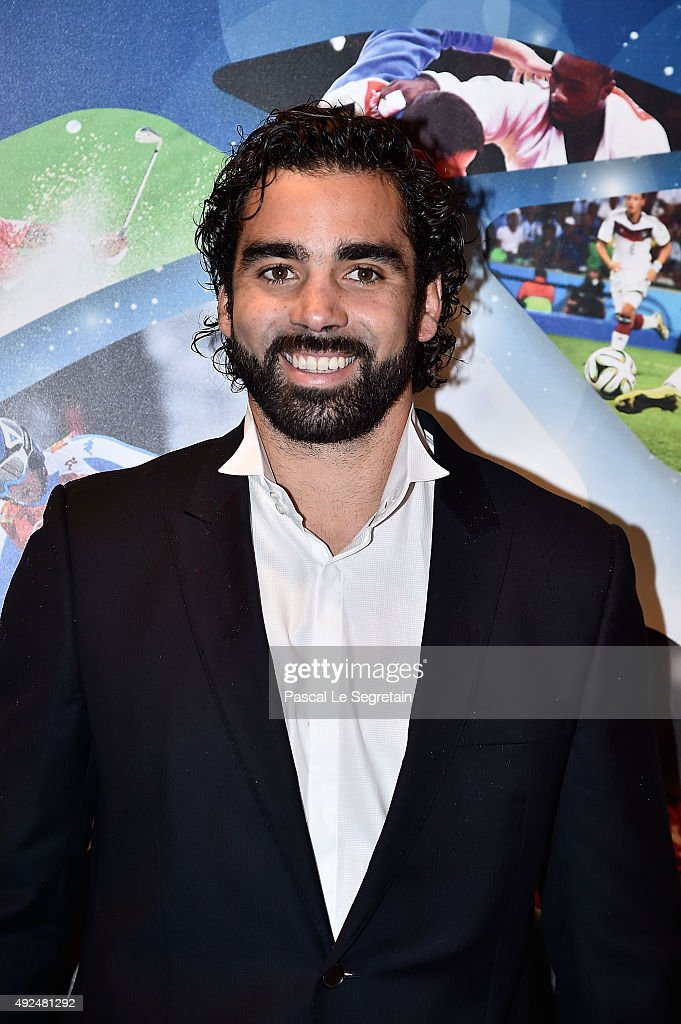 Yoann Huget attends the Golden Podium award ceremony of the 26th edition of Sportel Monaco at Grimaldi Forum on October 13, 2015 in Monte-Carlo, Monaco.