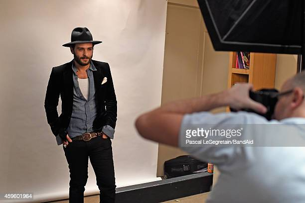 Yodelice attends the Band Aid 30 'Noel est la' Recording on November 23 2014 in Paris France