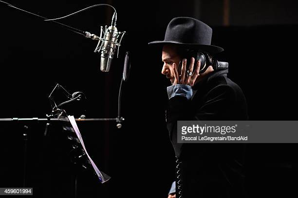 Yodelice performs during the Band Aid 30 'Noel est la' Recording on November 23 2014 in Paris France