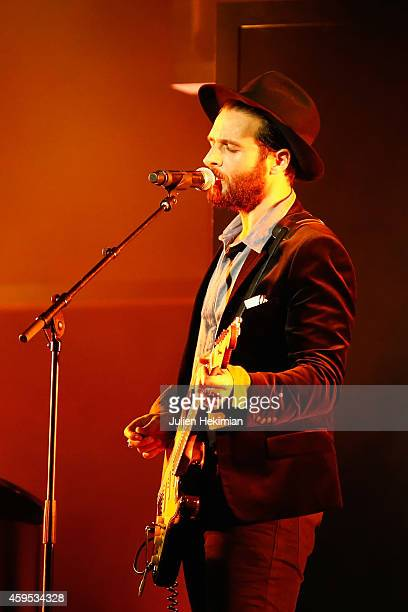 Yodelice performs on stage during 'Les Grands Prix De La SACEM 2014' at L'Olympia on November 24 2014 in Paris France