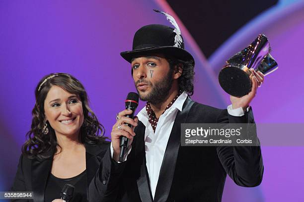 Yodelice receives the 'Revelation Album of the Year' Award for 'tree of Life' by Daniela Lumbroso during the '25th Victoires de la Musique' ceremony...