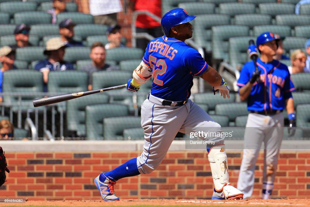 Céspedes conecta grand slam en su regreso, Mets ganan