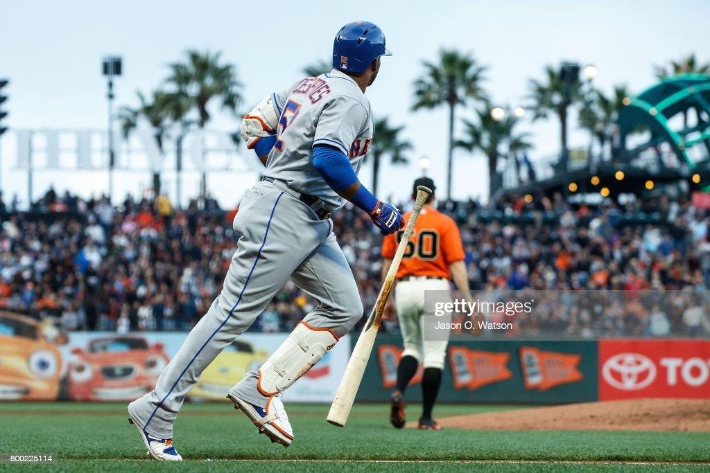 Mets derrotan a Gigantes con ayuda de Céspedes