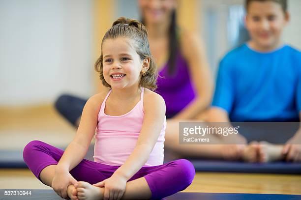 Yoga-Kurs im Fitness-Center