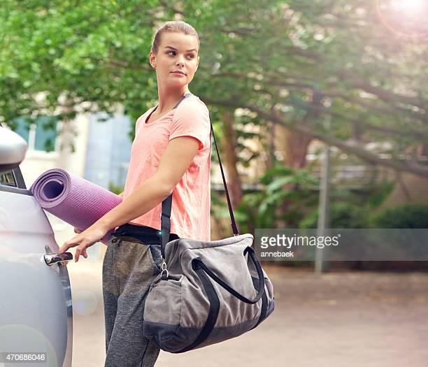 Cours de Yoga, me voici