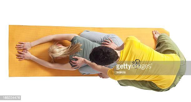 yoga couple - Partneryoga