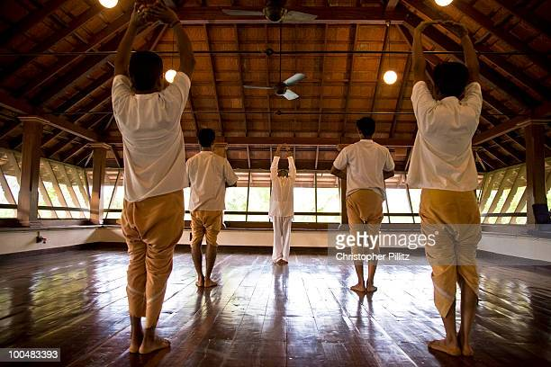 Yoga follows an intense session of Kalari Payattu