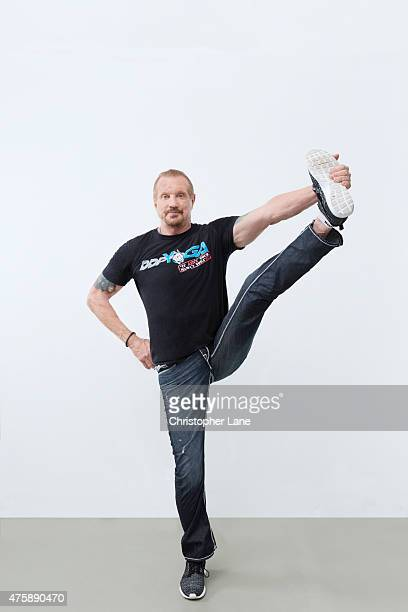 Yoga guru Diamond Dallas Page is photographed for The London Times on September 12 2014 in New York City