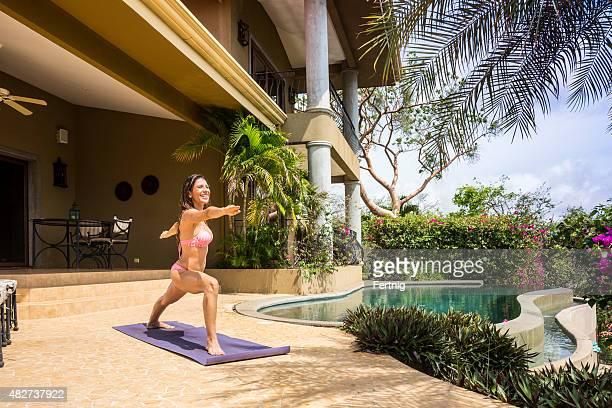 Yoga in una splendida posizione della Costa Rica