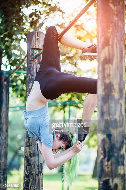 Yoga in a Park