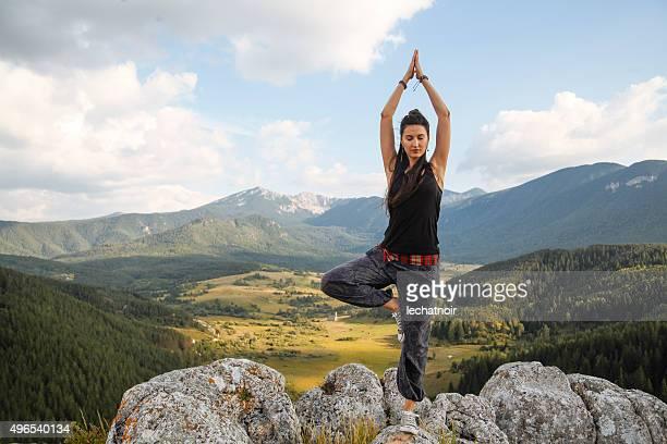 Yoga in der Wildnis
