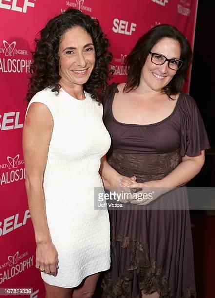 Yoga instructor/author Mandy Ingber and actress Ricki Lake attend SELF Magazine and Jennifer Aniston's celebration of Mandy Ingber's new book...