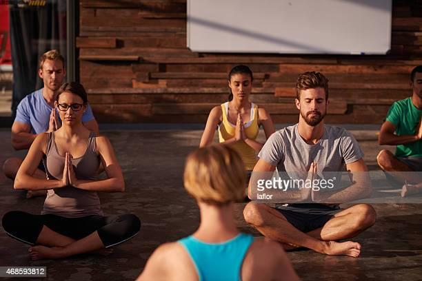 Yoga ist die Antwort