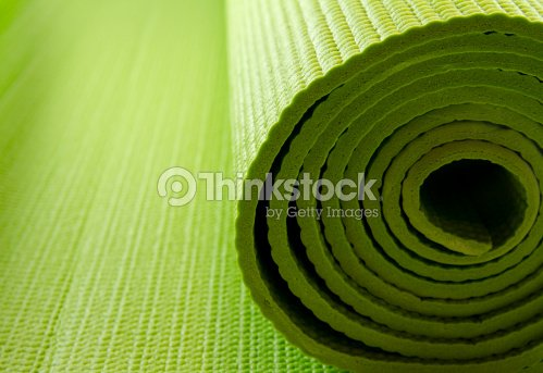 yoga mattress : Stock Photo