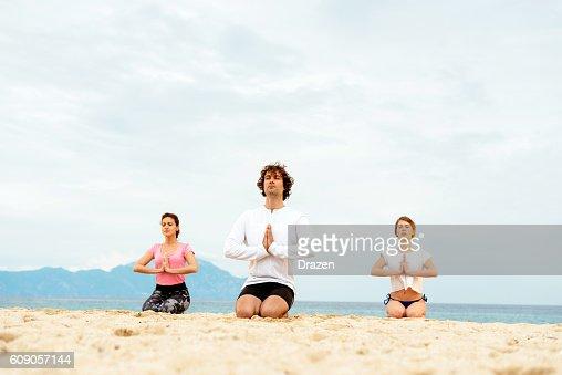 Yoga on holiday