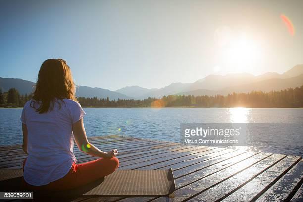 Yoga auf See
