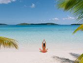 yoga sea