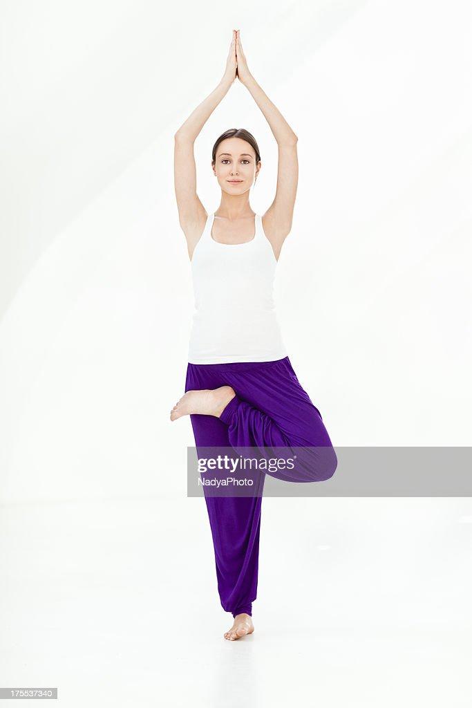 Yoga -Tree Pose