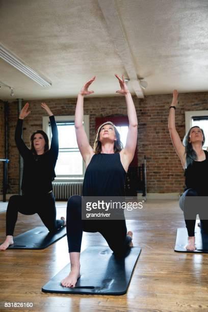 Yoga guerrier Pose