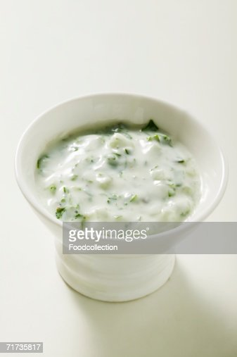 Yoghurt dip with herbs