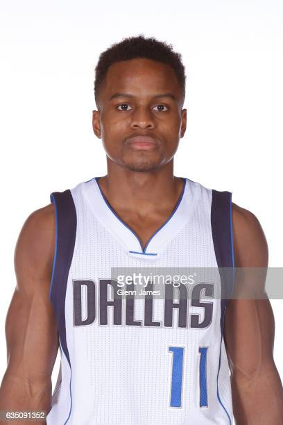 Yogi Ferrell of the Dallas Mavericks poses for a head shot on February 10 2017 at the American Airlines Center in Dallas Texas NOTE TO USER User...