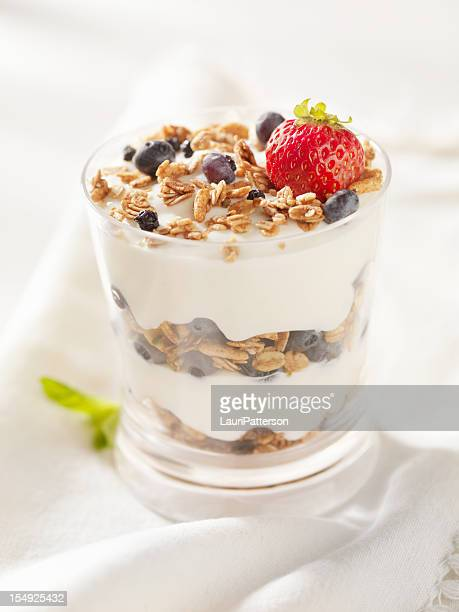 Yogurt Parfait with Fresh Fruit
