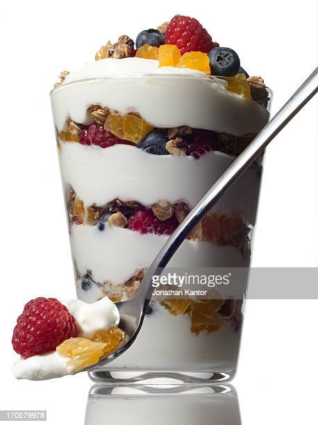 Yogurt Parfait with Fruit and Granola