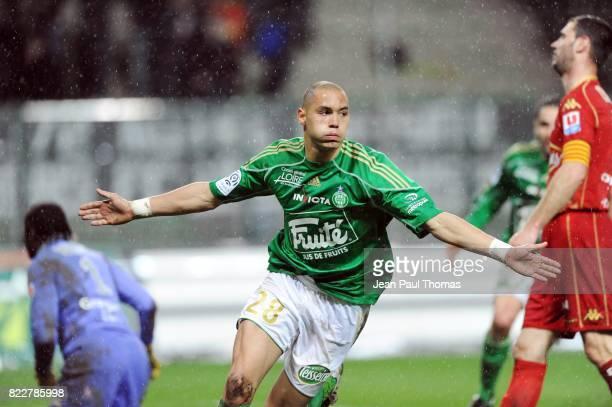 Yohan BENALOUANE Saint Etienne / Le Mans 31eme journee de Ligue 1 Stade Geoffroy Guichard