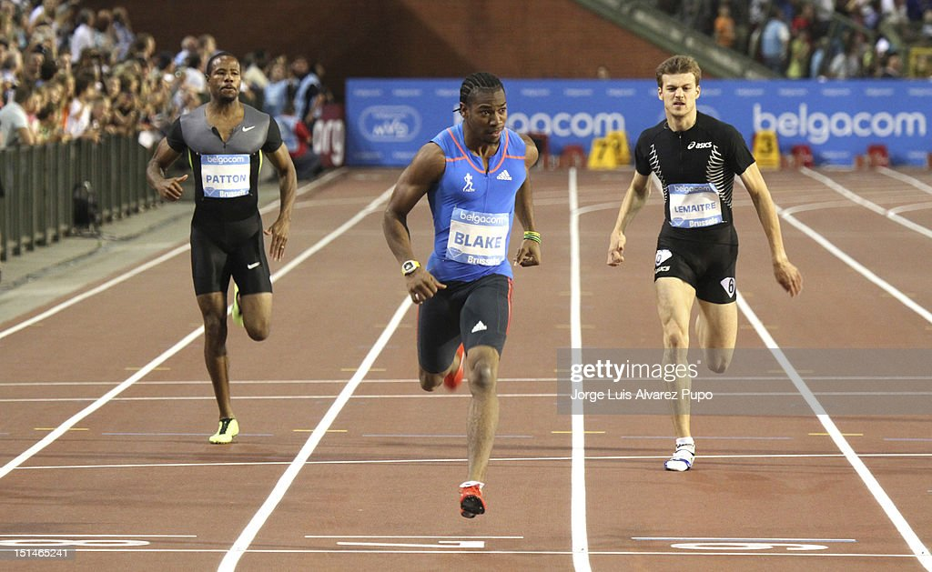 <a gi-track='captionPersonalityLinkClicked' href=/galleries/search?phrase=Yohan+Blake&family=editorial&specificpeople=2172755 ng-click='$event.stopPropagation()'>Yohan Blake</a> of Jamaica competes during the Men's 200m and with 19S54 set his victory at the IAAF Golden League meeting at the Memorial Van Damme Stadium on September 07, 2012 in Brussels, Belgium.