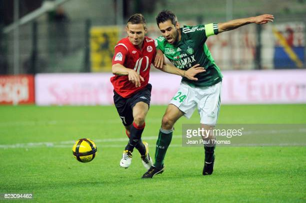 Yohan CABAYE / Loic PERRIN Saint Etienne / Lille 35eme journee de Ligue 1
