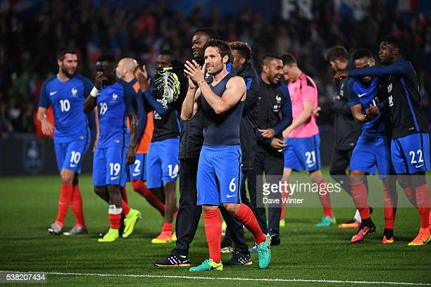 Yohan Cabaye of France after the international friendly match between France and Scotland at Stade SaintSymphorien on June 4 2016 in Metz France