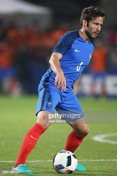 Yohan Cabaye of France in action during the international friendly match between France and Scotland at Stade Saint Symphorien on June 4 2016 in Metz...