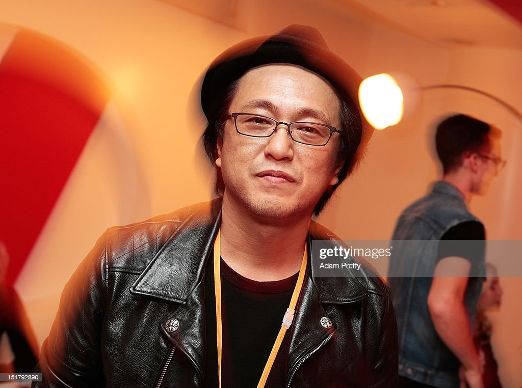 Yoichi Yasouka of Chrome Hearts poses for a photo during the ELLEgirl Night in association with Chrome Hearts at Fiat Caffe on October 26, 2012 in Tokyo, Japan.
