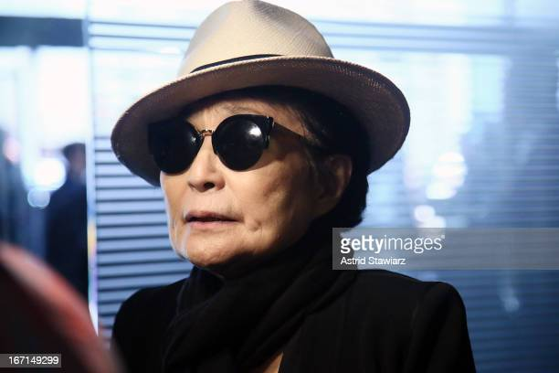 Yoko Ono attends 'Gasland Part II' World Premiere at the 2013 Tribeca Film Festival on April 21 2013 in New York City