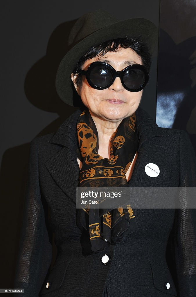 <a gi-track='captionPersonalityLinkClicked' href=/galleries/search?phrase=Yoko+Ono&family=editorial&specificpeople=202054 ng-click='$event.stopPropagation()'>Yoko Ono</a> attends the Kishin Shinoyama Photo Exhibition held at the Audi Forum on December 3, 2010 in Tokyo, Japan.