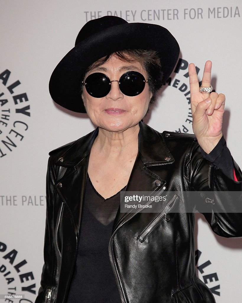 <a gi-track='captionPersonalityLinkClicked' href=/galleries/search?phrase=Yoko+Ono&family=editorial&specificpeople=202054 ng-click='$event.stopPropagation()'>Yoko Ono</a> attends the Paley Center For Media Presents: An Evening With <a gi-track='captionPersonalityLinkClicked' href=/galleries/search?phrase=Yoko+Ono&family=editorial&specificpeople=202054 ng-click='$event.stopPropagation()'>Yoko Ono</a> at Paley Center For Media on November 11, 2014 in New York City.