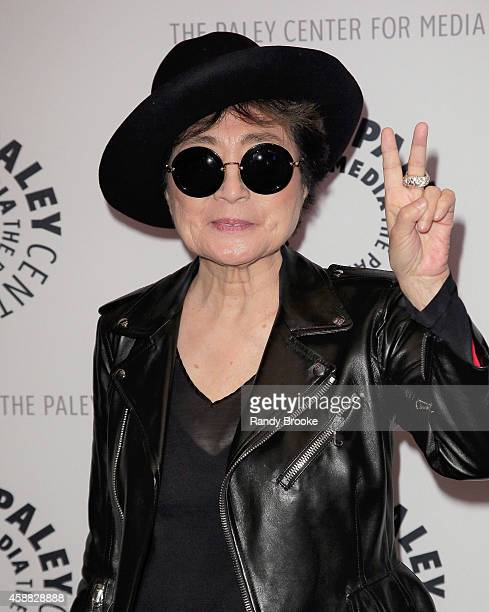 Yoko Ono attends the Paley Center For Media Presents An Evening With Yoko Ono at Paley Center For Media on November 11 2014 in New York City