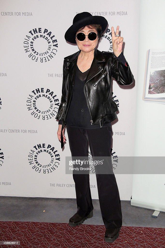 Yoko Ono attends the Paley Center For Media Presents: An Evening With Yoko Ono at Paley Center For Media on November 11, 2014 in New York City.