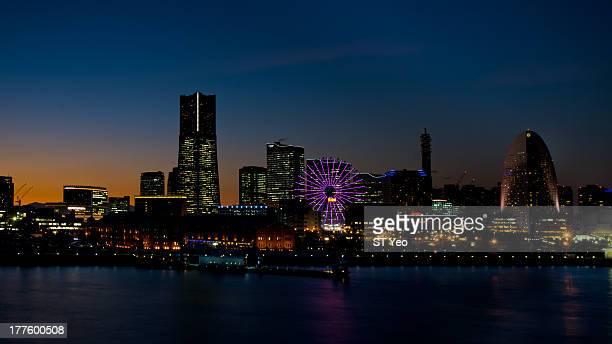 Yokohama Blue Hour