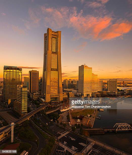 Yokohama Japan Sunrise