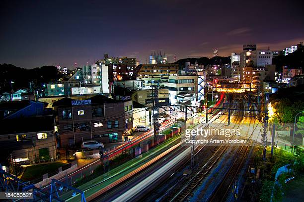 Yokohama night trains