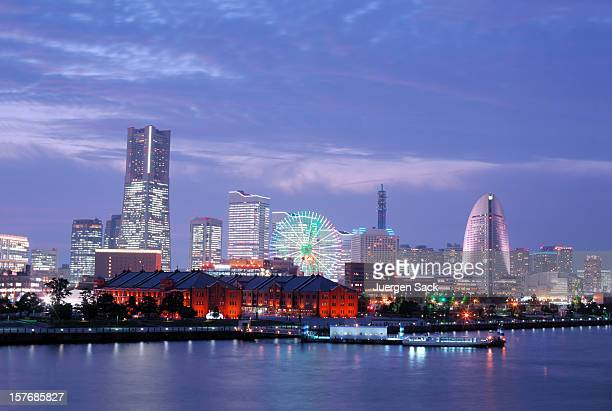 Yokohama Skyline and Bay