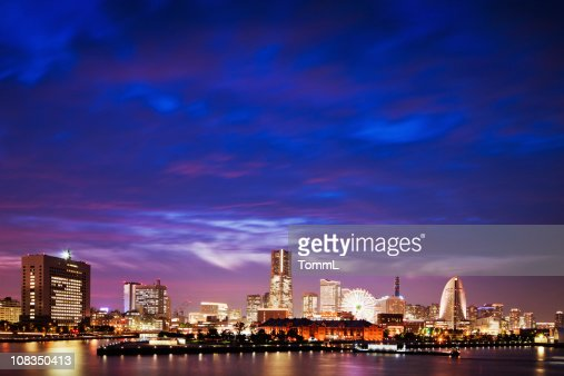 Yokohama Skyline : Stock Photo