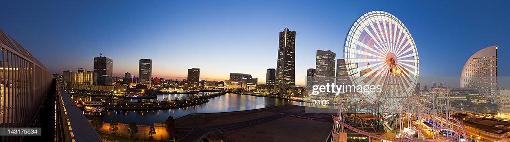 Yokohama Waterfront Panorama, Japan : Stock Photo