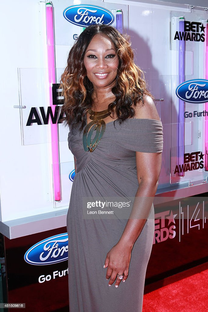 <a gi-track='captionPersonalityLinkClicked' href=/galleries/search?phrase=Yolanda+Adams&family=editorial&specificpeople=206858 ng-click='$event.stopPropagation()'>Yolanda Adams</a> arrived at the BET & Make A Wish Foundation Recipient Wish To Attend BET Awards Red Carpet Arrivals on June 29, 2014 in Los Angeles, California.