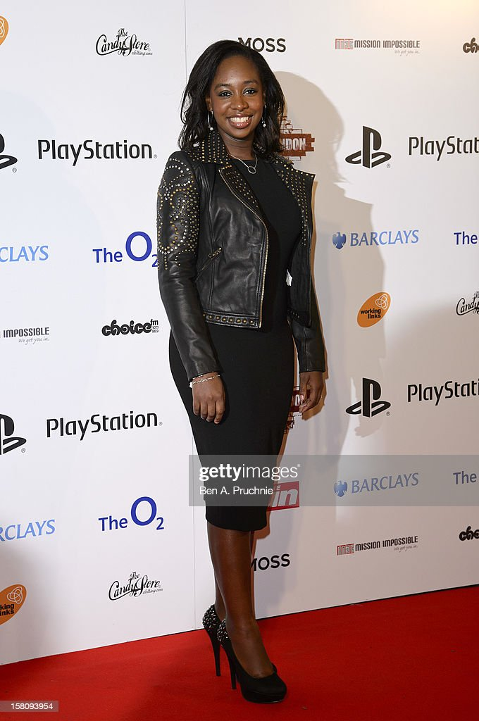 Yolanda Brown attends the Spirit of London Awards at the O2 Arena on December 10, 2012 in London, England.